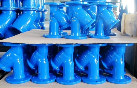 วาล์วสี Bule Epxoy Powder Coating Corrosion Resistant Environmental